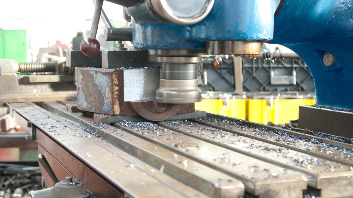 Milling a Hydraulic Cylinder Eye